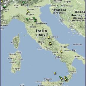 Mappa terremoto Italia