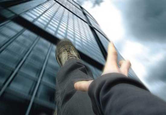 Cadere dal grattacielo