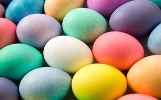 Uova colorate - Sfondo desktop