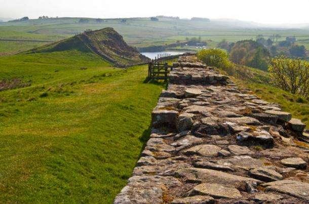 Antico muro romano