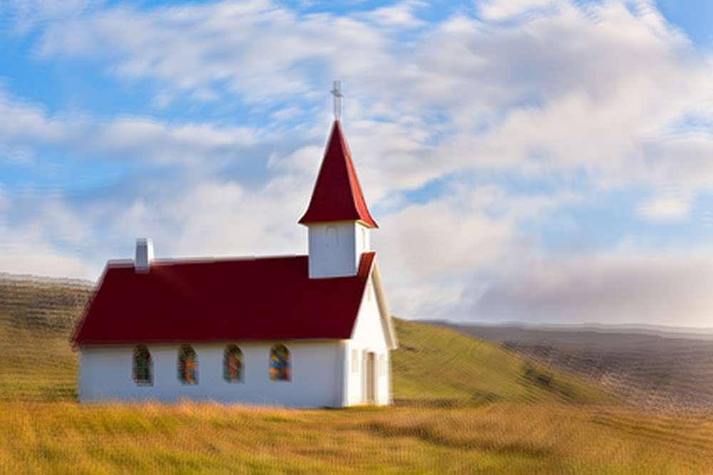 Chiesa col tetto rosso