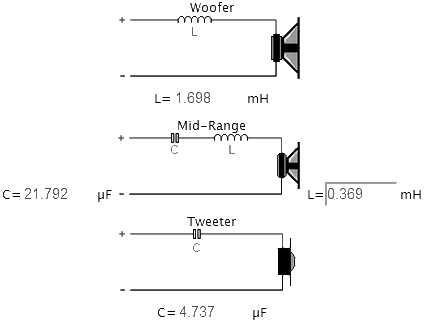 LA4465 crossover 3 vie