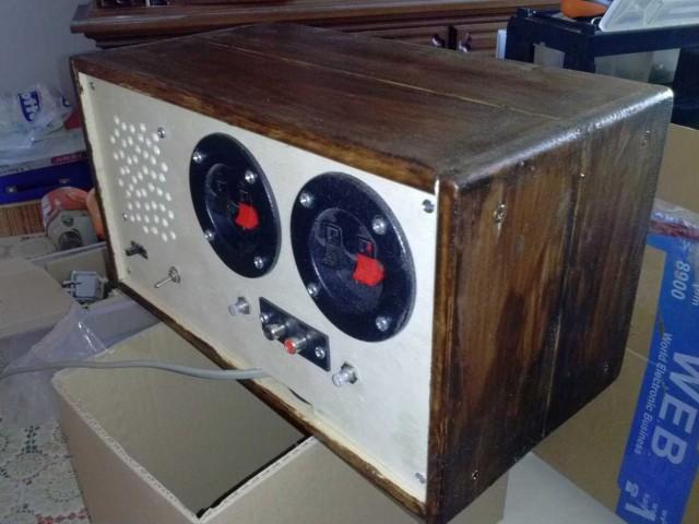 LA4465 amplificatore stereo