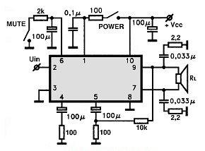 LA4465 schema base