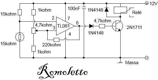 LA4465 termostato