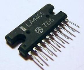 Amplificatore Stereo 12+12 W LA4465 - Parte I