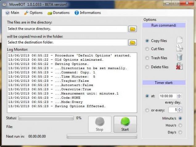 MoveBOT 1.0.1.033 BETA ENG VERSION