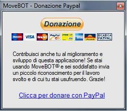MoveBOT FREE donazione