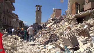 Terremoto di Amatrice - Italia - 2016