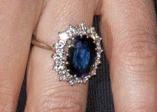 Anello indossato da Kate Middleton