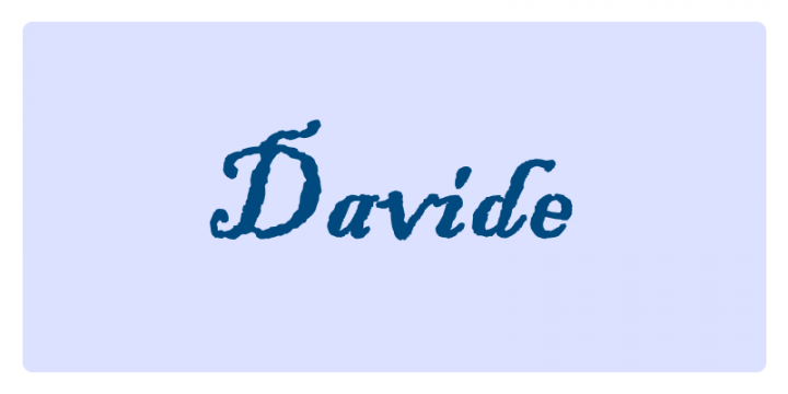 Davide - Significato dei nomi