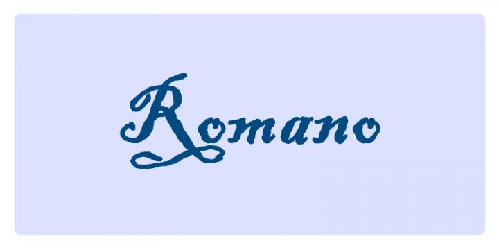 Romano - Significato dei nomi