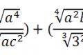 Matematica - I radicali algebrici