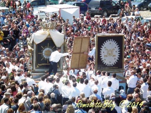 Madonna di Porto Salvo 2014-lo scambio