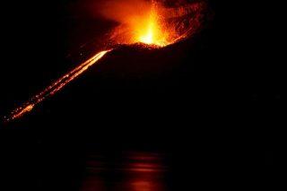 Eruzione del vulcano  Krakatoa