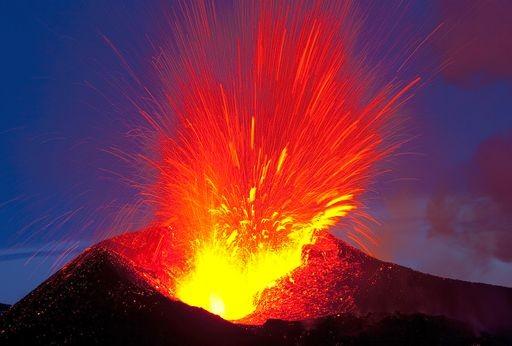 Vulcano ed eruzione nell'interpretazione dei sogni