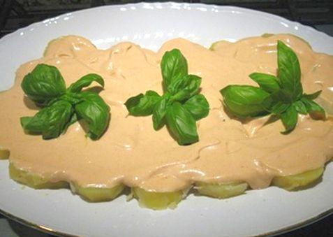 Insalata piccante di patate - Ricette semplici