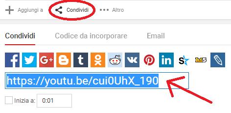 Come scaricare musica da Youtube - CONDIVIDI URL