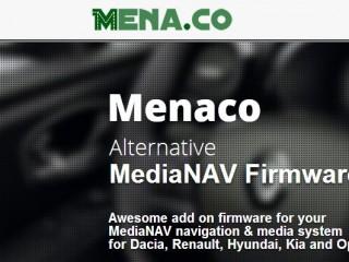 Menaco - Firmware alternativo MediaNav