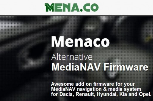 Menaco - Firmware alternativo MediaNav