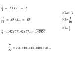 Trasformare decimali in frazioni