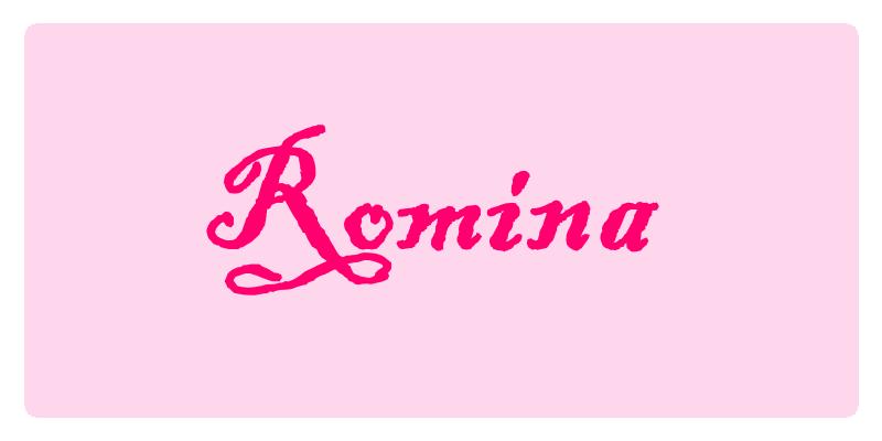 Romina - Significato dei nomi