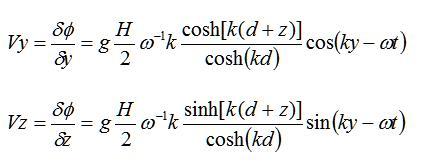 Componenti y e z della Velocità