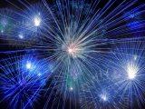 Fuochi d'artificio. giochi pirotecnici - Interpretazione dei sogni