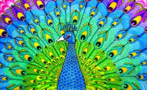 Pavone interpretazione dei sogni romoletto blog - Immagini pavone a colori ...