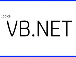 Aprire File - Codice VB.NET