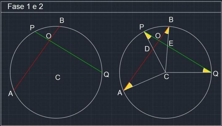 Circonferenza P072 -01- Problemi di Geometria Euclidea
