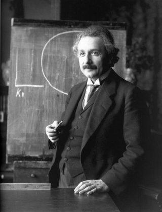 Il professore di fisica Albert EinStein