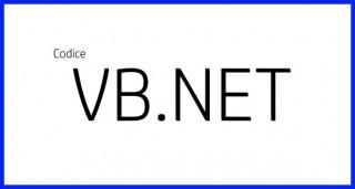 Negativo immagine - Codice VB.NET