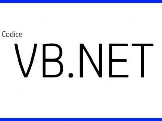 Regolare luminosità - Codice VB.NET