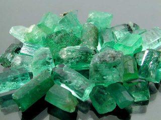 Smeraldi naturali