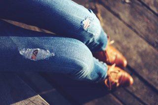 jeans al tramonto