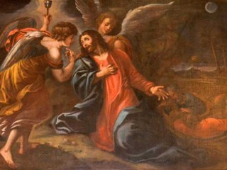 Gesù con l'angelo
