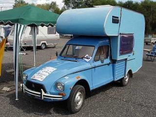 Caravan Vintage Citroen