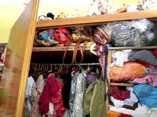 Disordine in armadio