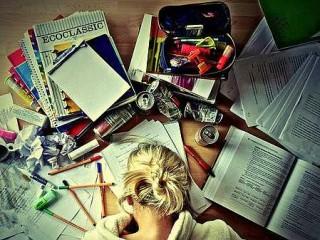 Disordine sulla scrivania