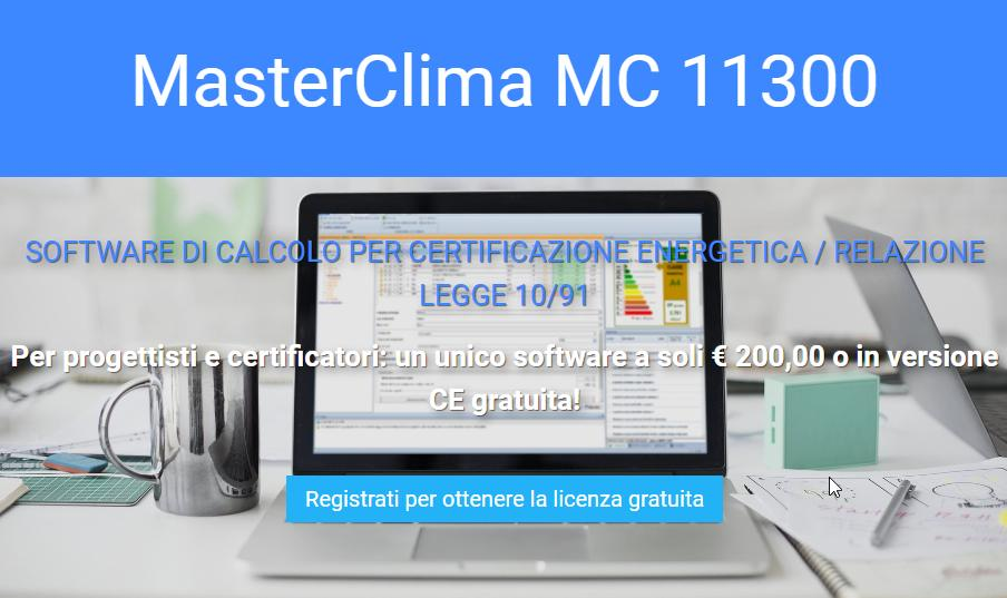 MasterClima - Software per Progettazione Termotecnica