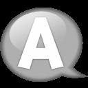 speech-balloon-white-a-icon