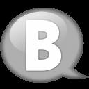 speech-balloon-white-b-icon