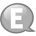 speech-balloon-white-e-icon