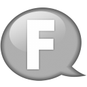 speech-balloon-white-f-icon