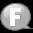 speech-balloon-white-f-icon