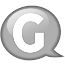 speech-balloon-white-g-icon