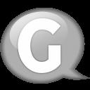 speech-balloon-white-g-icon