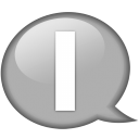 speech-balloon-white-i-icon