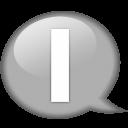 speech-balloon-white-i-icon